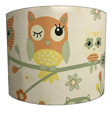 Twit Twoo Lampshades Ideal To Match Owl Wallpaper, Owl Duvets & Owl Quilt Covers