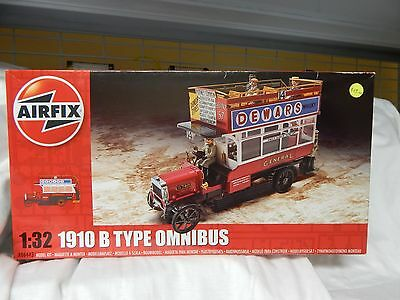 Airfix ref A06443 1910 B Type Omnibus 1/32nd scale plastic kit