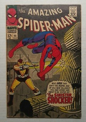 The Amazing Spider-Man #46 (1967 Marvel) First Appearance of The Shocker