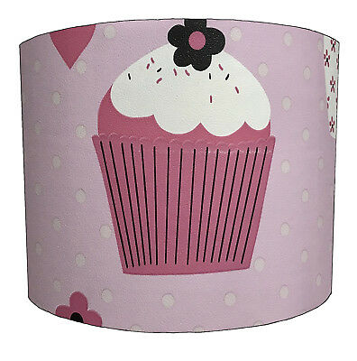 Lampshades Ideal To Match Cupcakes Wallpaper, Cupcakes Duvets & Cupcakes Quilts.