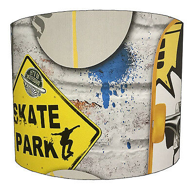 Lampshade Ideal To Match Skateboard Graffiti Quilt Covers & Graffiti Wall Decals