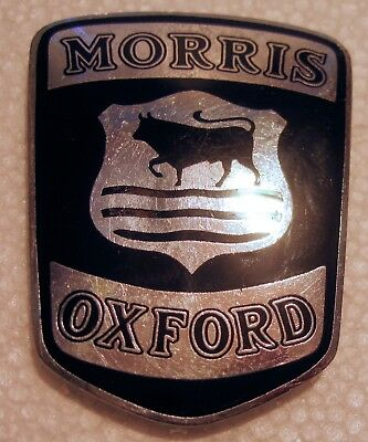 This is the very scarce mid-1930s Morris Oxford Car Badge