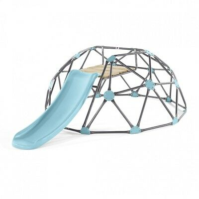 NEW Plum Play Large Climbing Dome with Slide - Blue | Kids Outdoor Climbing Fun
