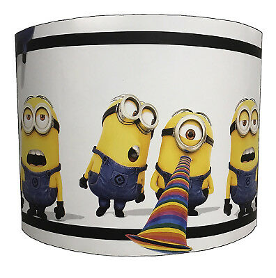 Lampshades Ideal To Match Despicable Me Quilt Covers & Minions Wallpaper Decals.