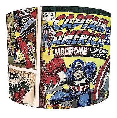 Lampshades Ideal To Match Superheroes Duvet Covers & Superheroes Wall Decals.