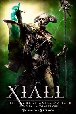 SIDESHOW - XIALL- The Great Osteomancer Court of the Dead Premium Format Statue