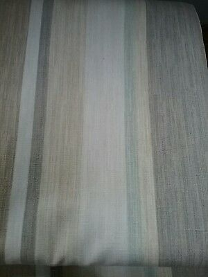 Laura Ashley Curtains In Ashley Stripe Duck Egg In Good Use Conditions