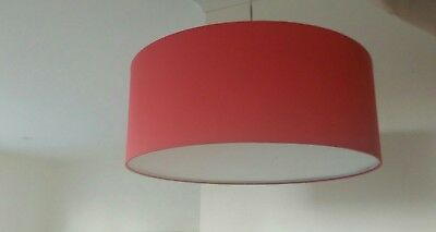 Pendant Lights Round Red Pair