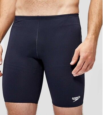Speedo endurance+ men's black 36""