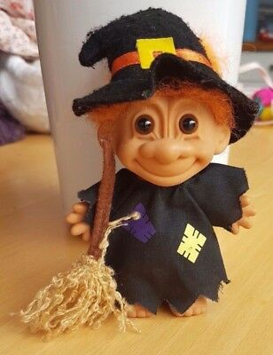 Original Russ Troll Witch Halloween toy from the 90s
