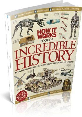Very Good, How It Works Book of Incredible History, Imagine Publishing, Book
