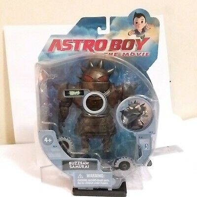 Astro Boy The Movie Buzzsaw Samurai Figure  Jazwares 2009 *Brand New*