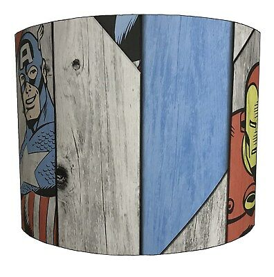 Lampshades Ideal To Match Super Heroes Duvets Super Heroes Wall Decals & Sticker