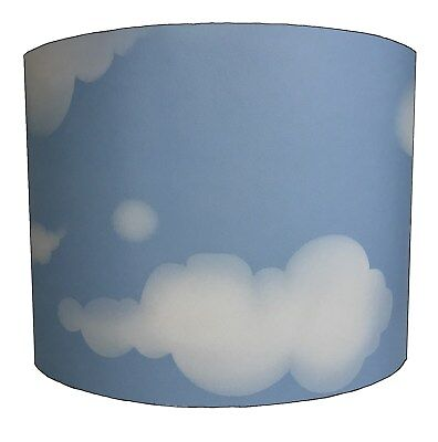 Lampshades Ideal To Match Clouds Duvets, Clouds Wall Decals & Clouds Wallpaper.