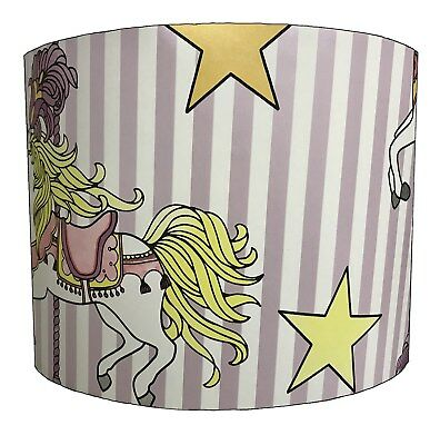Carousel Lampshades Ideal To Match Carousel Duvets & Carousel Wallpaper Borders