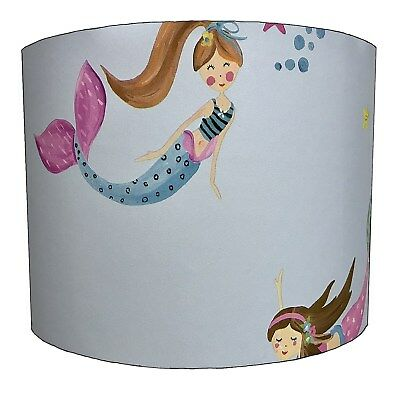 Children`s Lampshades Ideal To Match Mermaids Duvets & Mermaids Wall Decals.