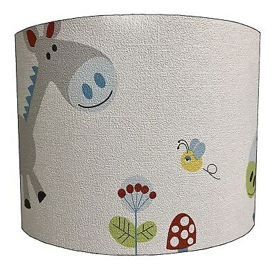 Lampshades Ideal To Match Donkeys Duvets, Donkeys Wallpaper & Donkey Wall Decals