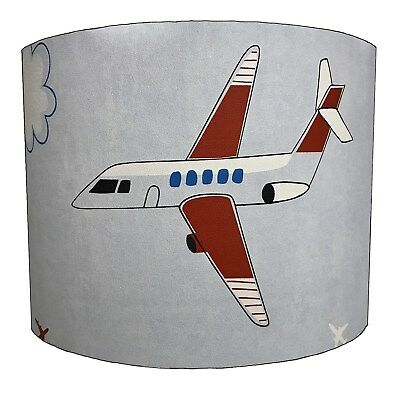 Children`s Aeroplanes Lampshades Ideal To Match Planes Duvets & Jets Wall Decals