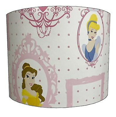 Lampshades Ideal To Match Disney Princess Duvets & Disney Princess Wall Decals.
