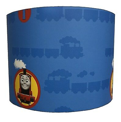 Children`s Lampshades, Ideal To Match Thomas The Tank Engine Wallpaper Borders.