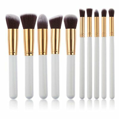 Makeup 10pcs Cosmetic Brush Face Powder Eyeshadow Blush Brushes Set Tools Hot
