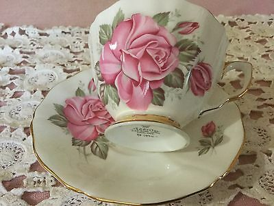 Adderley Bone China Cup And Saucer England
