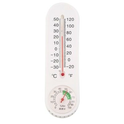 Analog Household Thermometer Temperature Humidity Monitor Tester Meter Gauge