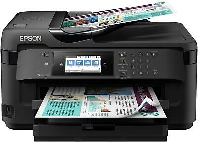 Epson Wf-7710dwf Workforce A3+ 4in1 18ppm Iso, 250fg Lcd Adf F R Usb Lan Wifi Di