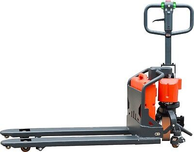 1500kg Semi Electric Battery Powered Pallet Truck Material Handling 540x1150mm