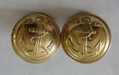 B1- 2 boutons militaire marine d25