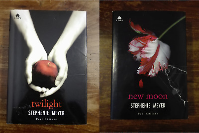 Twilight+Newmoon-Stephenie Meyer/italiano/copertine Rigide