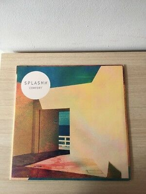 Splashh - 'Comfort' Vinyl Album LP LTD BLUE VINYL W LTD WHITE LABEL 10""