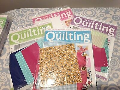 The Art of Quilting Magazine collection. Issues 4 - 27. Rate per magazine