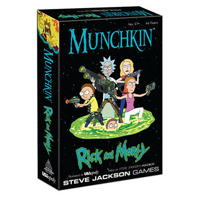 Munchkin Rick And Morty Card Game NEW