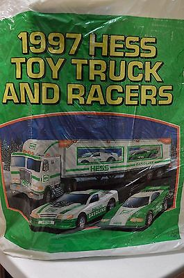 1997 Hess Toy Truck and Racers Mint in Box