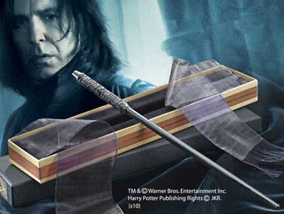 Harry Potter - BACCHETTA magica SEVERUS PITON box Ollivander Wand NOBLE ORIGINAL