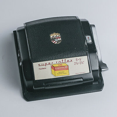 Linhof super rolex 6x9 120 roll film back