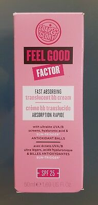 Soap And Glory Feel Good Factor Spf25 Fast Absorbing Bb Moisturising Cream 50Ml