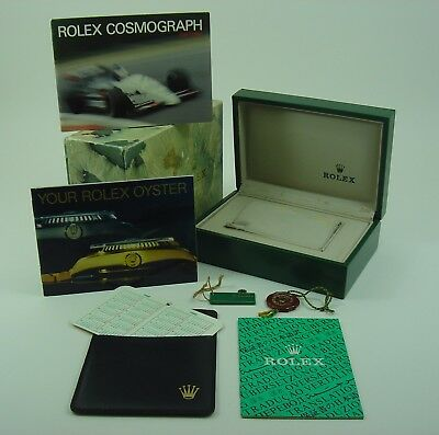 Genuine Rolex 16520 Daytona box set 1988 R Series 'Floating Cosmograph' Dial