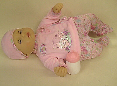 Baby Annabell My First I Care For You Doll By Zapf Creation - Excellent Conditio