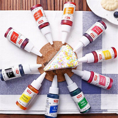 1pcs Food Grade Cookie Baking Cake Cream Bread Food Color Pigments