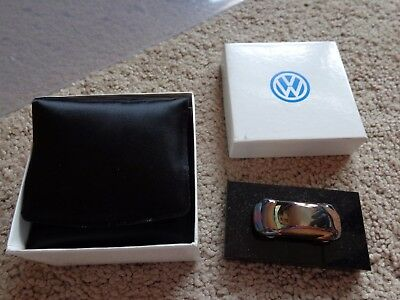 1991 Vintage Volkswagen Beetle Bug Kafer .925 Silver Collectible To Employees FS
