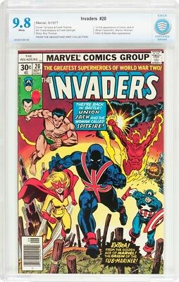 Invaders #20 CBCS 9.8 not CGC