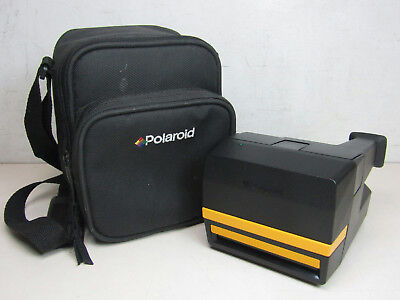 Polaroid Job Pro Instant Film Camera Carrying Bag Untested As Is