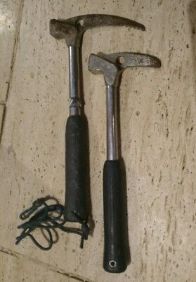 Vintage Charlet Moser Ice Axe Hammer Set/Pair Made In France. Climbing
