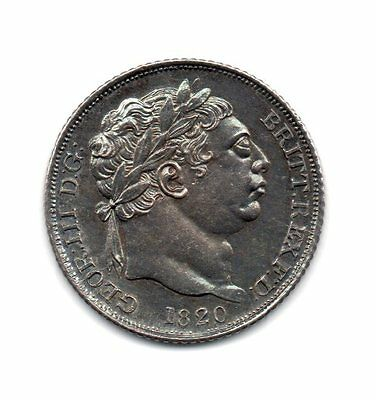 1820 Six Pence, George Iii
