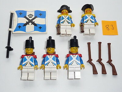 Lego, Minifig item 83, Imperial Soldiers, Lieutenant and Officer with guns