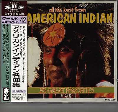 V.A.-All The Best From American Indian   Japan CD w/OBI