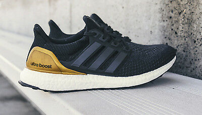 cacaa35776996 ADIDAS ULTRA BOOST 2.0 UCLA PE. size 16. Black Gold Blue. BB0800 ...