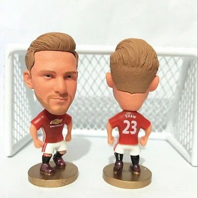 Luke Shaw Action Figure Soccer Football Manchester United Toy Cake Topper UK